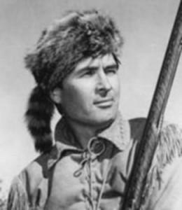 Chapeau raton laveur de Daniel Boone