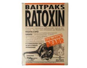 Ratoxin contre les souris